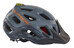 Mavic Crossride Helmet grey denim/george orange